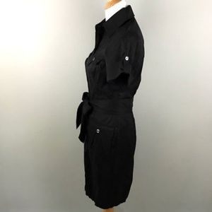 674947c9 Diane von Furstenberg Dresses - Diane Von Furstenberg Button Down Dress 6  Sash Tie